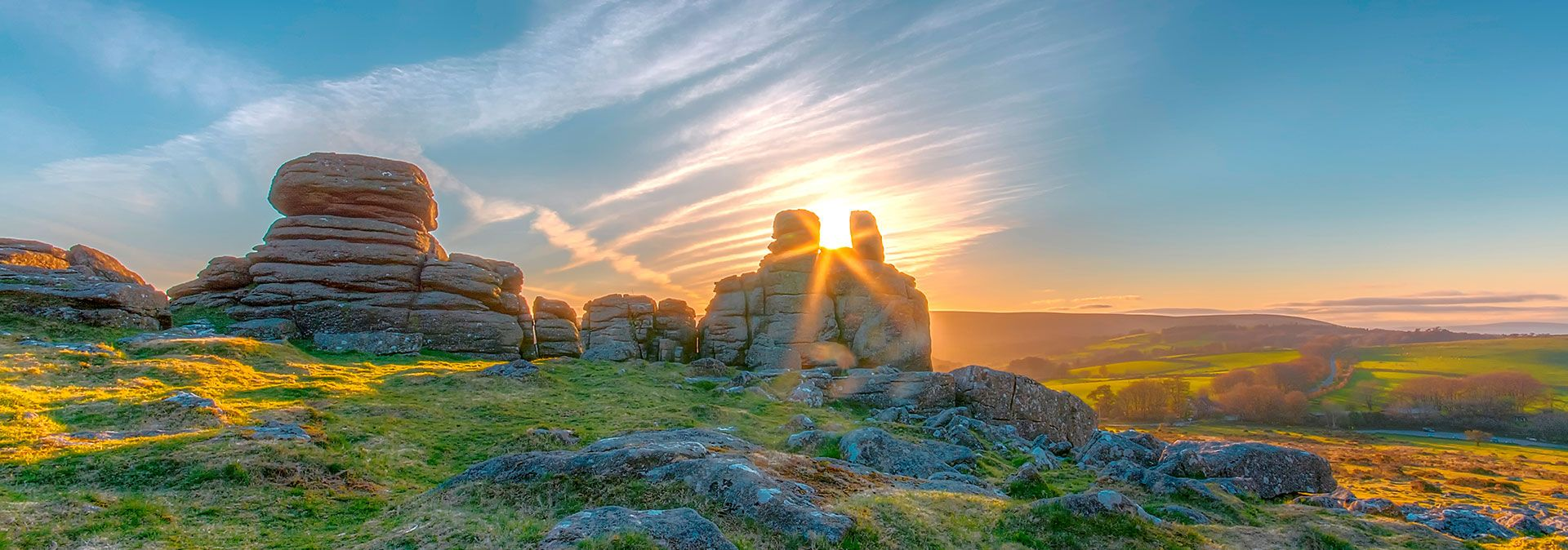 Dartmoor, Sunrise, Devon